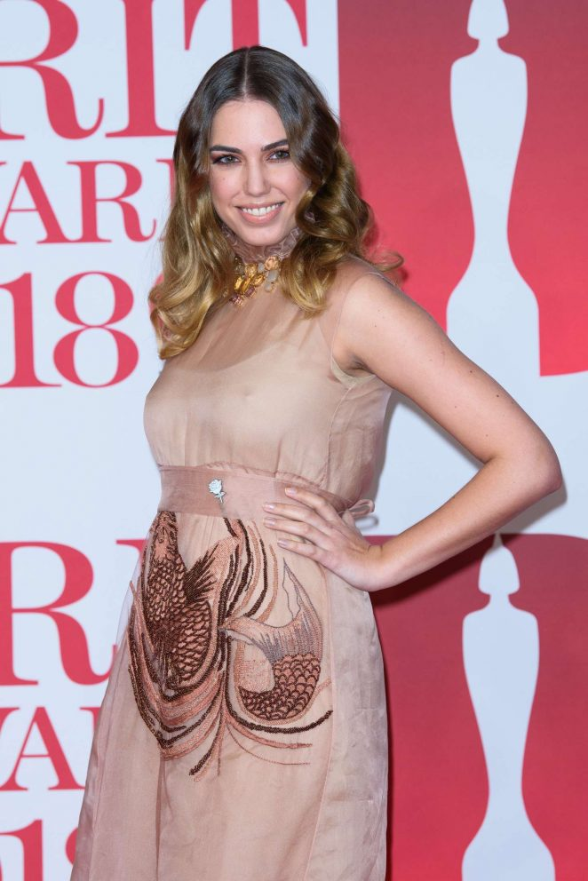 Amber Le Bon - 2018 Brit Awards in London