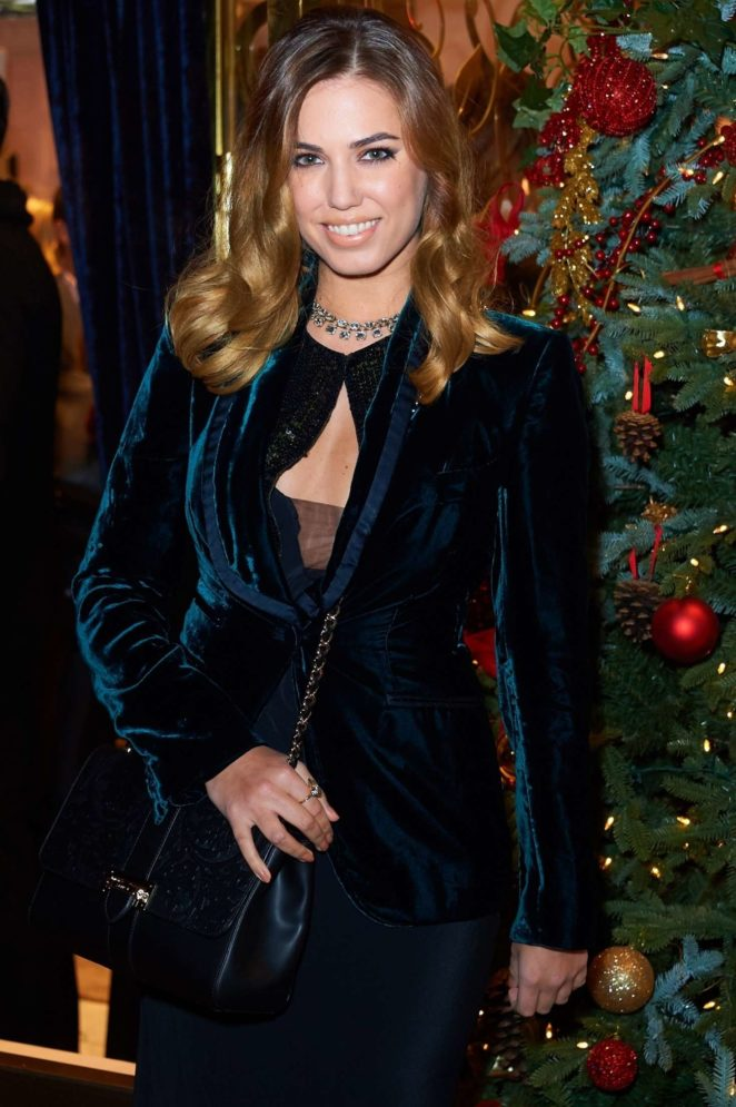 Amber Le Bon - Aspinal of London store launch in London