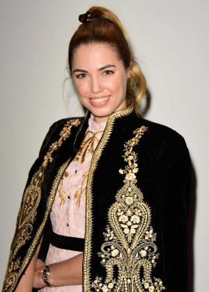 Amber Le Bon - Bora Aksu Fashion Show 2018 in London