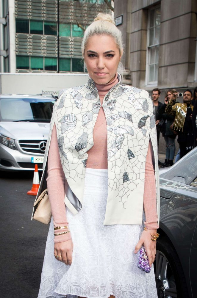 Amber Le Bon - Julien Macdonald Show at 2017 LFW in London