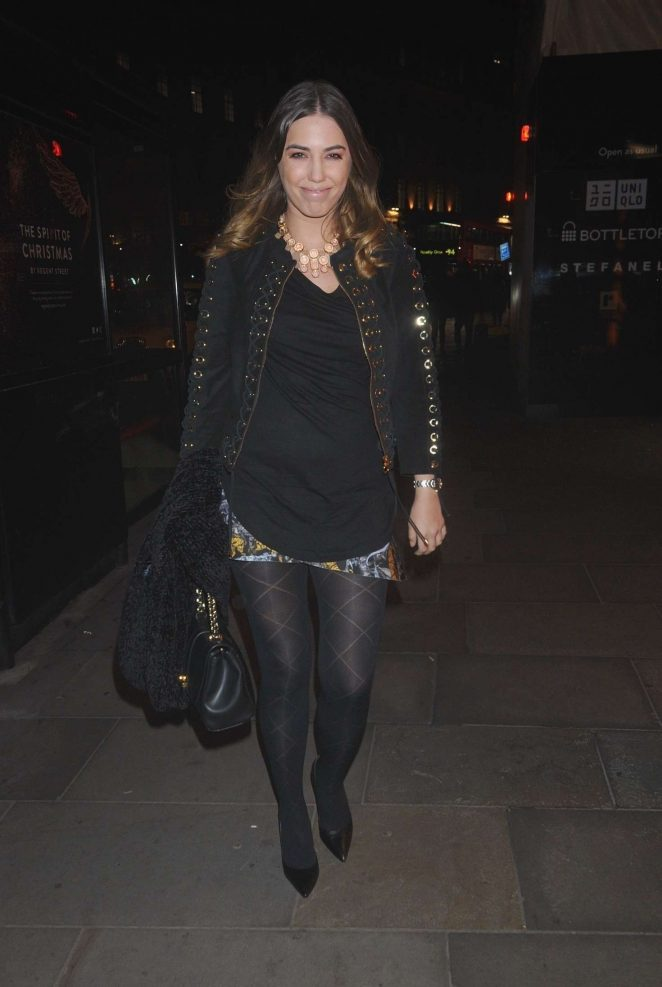 Amber Le Bon - L'Occitane en Provence Store Opening Party in London