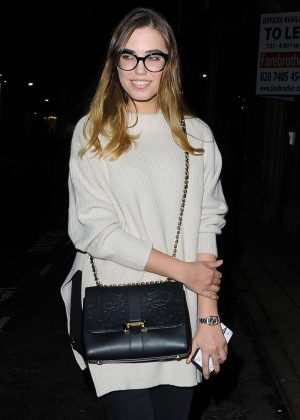 Amber Le Bon - Murad Skincare Launch Party in London