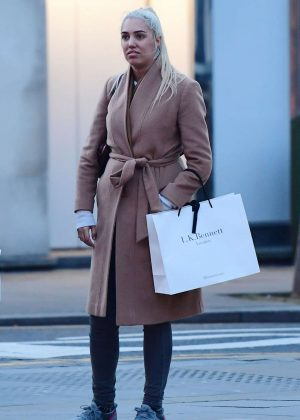 Amber Le Bon - Out in Chelsea
