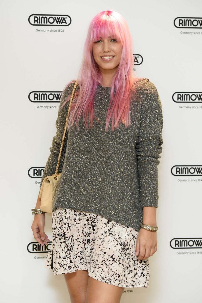 Amber Le Bon - RIMOWA Store Opening in London