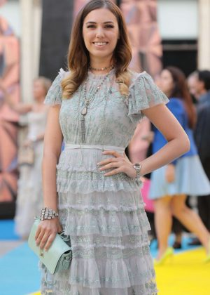 Amber Le Bon - Royal Academy of Arts Summer Exhibition Preview Party in London
