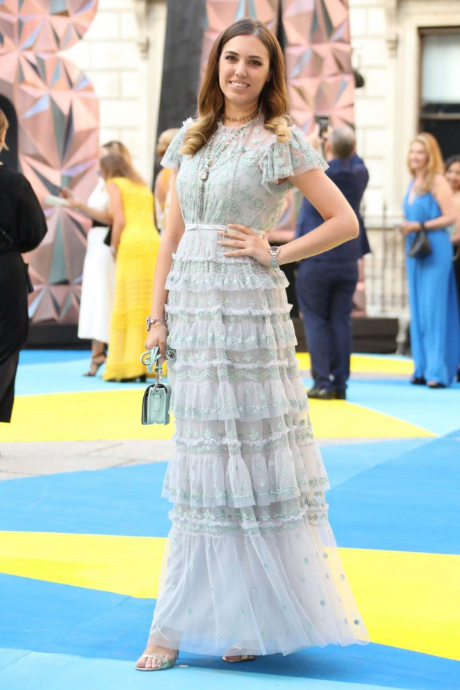 Amber Le Bon: Royal Academy of Arts Summer Exhibition Preview Party -11