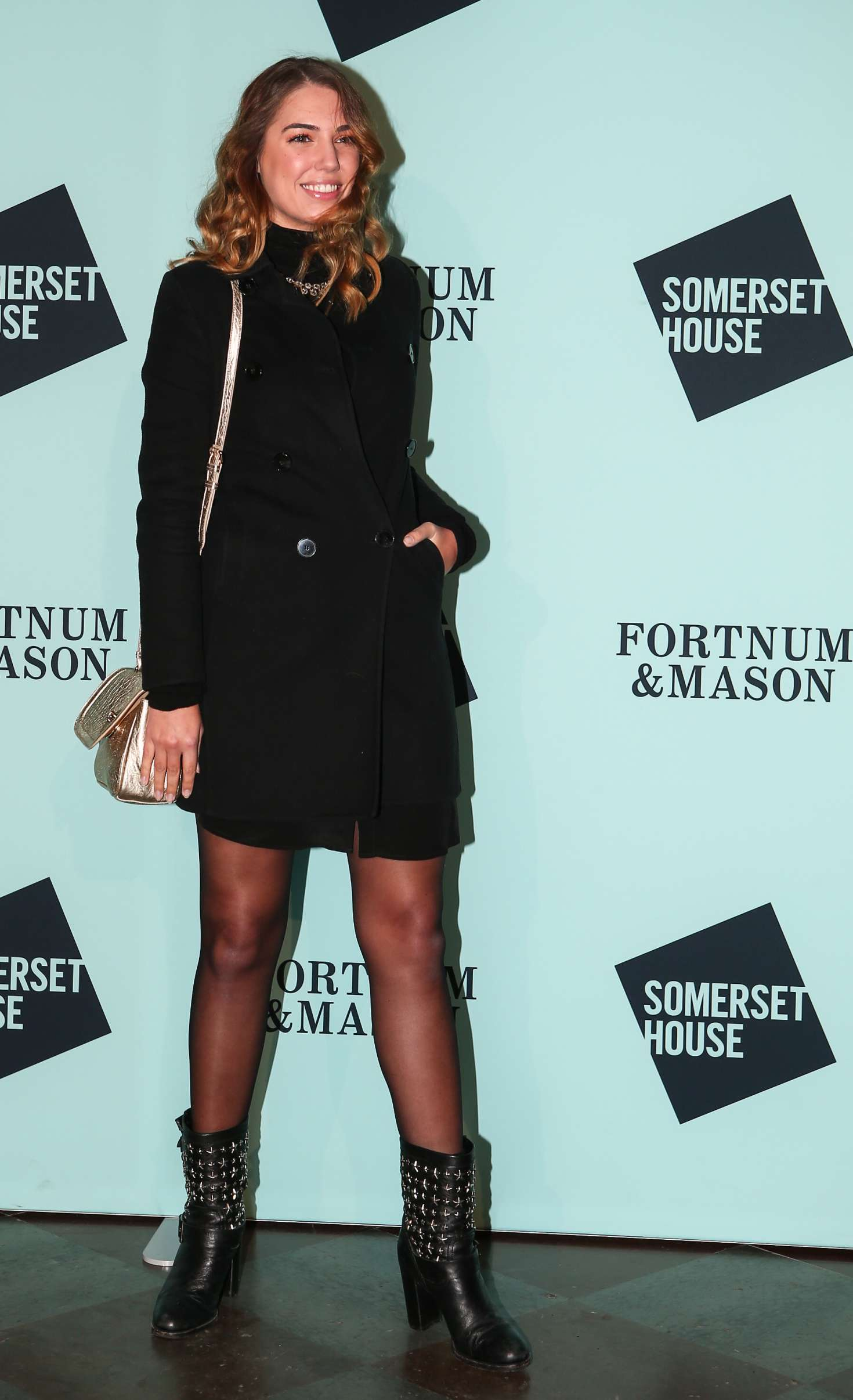 Amber Le Bon: Skate at Somerset House Lunch Party -02 - GotCeleb