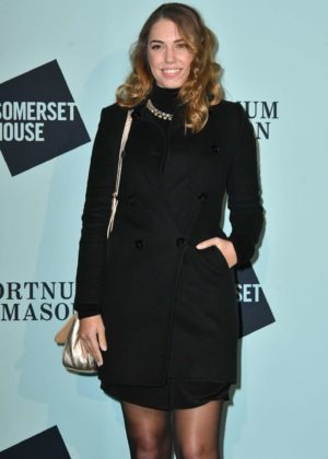 Amber Le Bon - Skate at Somerset House Lunch Party in London
