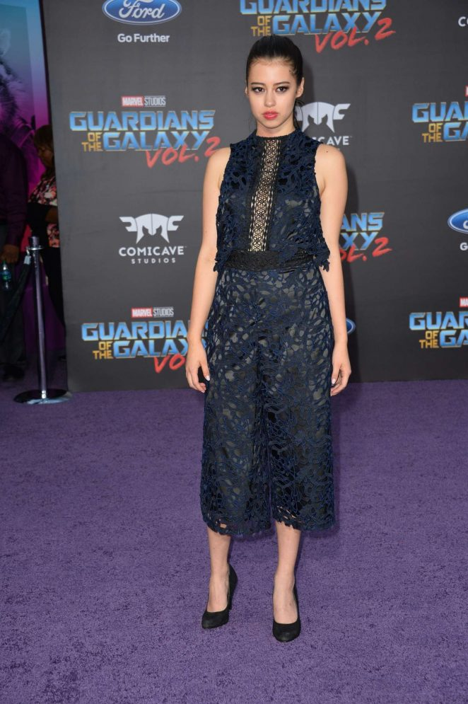 Amber Midthunder - 'Guardians of the Galaxy Vol. 2' Premiere in LA