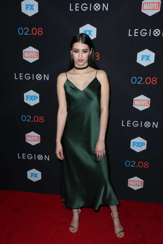 Amber Midthunder - 'Legion' Red Carpet Event at Pacific Design Center in LA