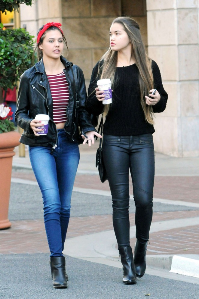 Amber Montana and Paris Berelc out in Glendale-08