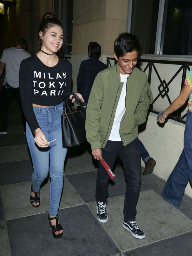 Amber Montana in Jeans at Roosevelt Hotel in Hollywood