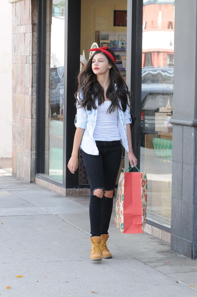 Amber Montana - Shopping for Christmas in Studio City
