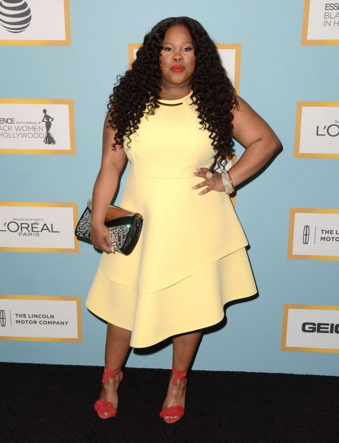 Amber Riley - 2016 ESSENCE Black Women in Hollywood Awards Luncheon in Beverly Hills