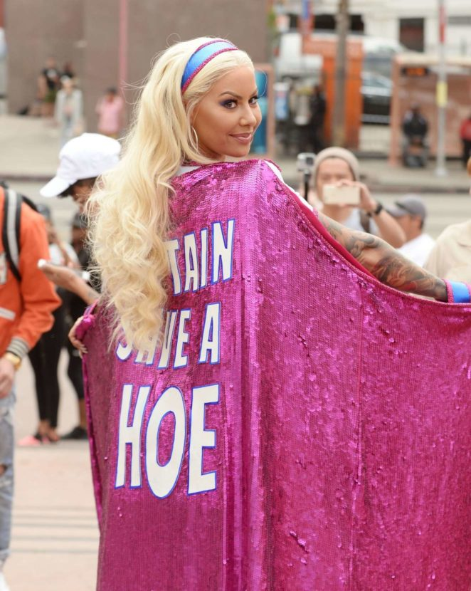 Amber Rose: 2017 Amber Rose SlutWalk in Los Angeles-02