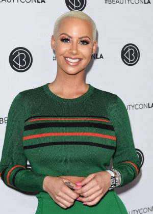 Amber Rose - 2017 Beautycon Festival in Los Angeles