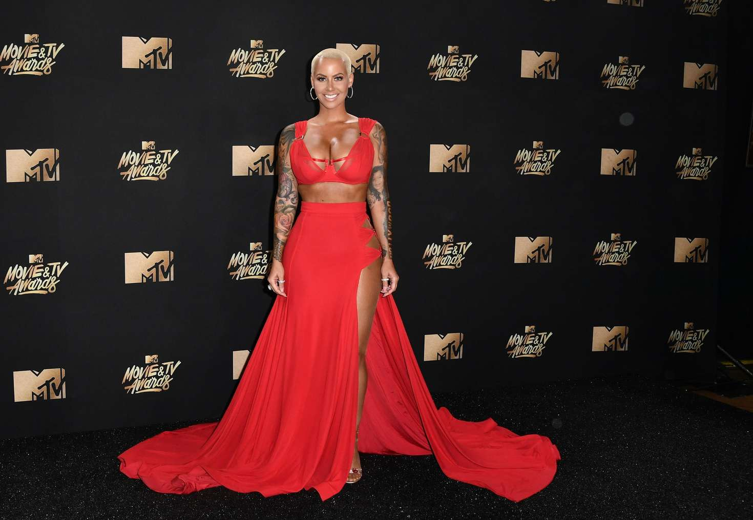 Amber Rose – 2017 MTV Movie And TV Awards in Los Angeles   Amber-Rose:-2017-MTV-Movie-And-TV-Awards--02