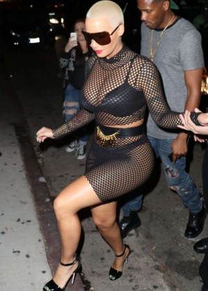 Amber Rose at Ace of Diamonds in Los Angeles