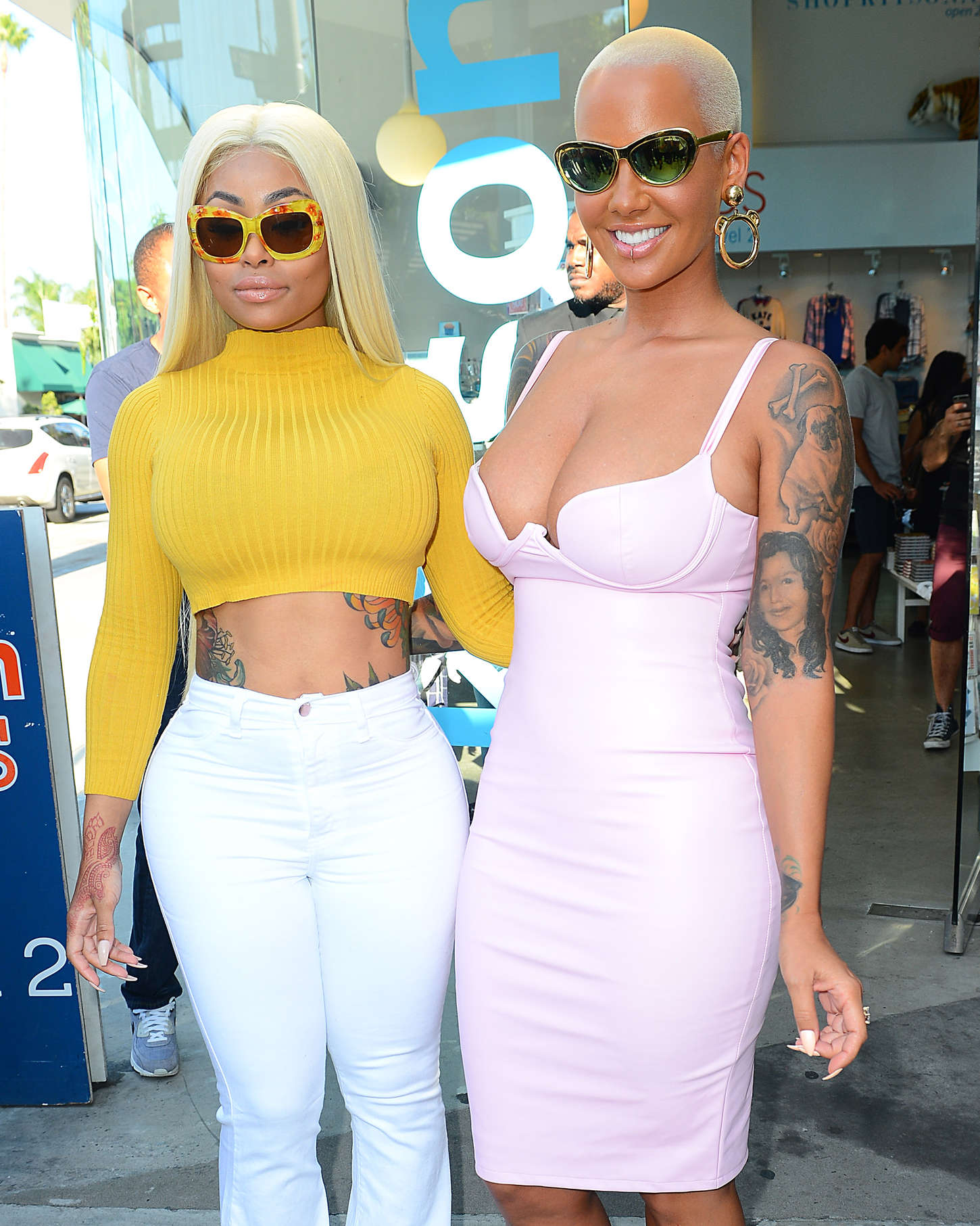 Agree blac chyna and amber rose for that