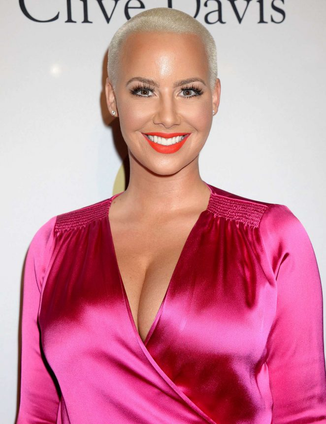 Amber Rose - Clive Davis Pre-Grammy Party 2017 in Los Angeles