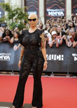 Amber Rose - MuchMusic Video Awards 2016 in Toronto