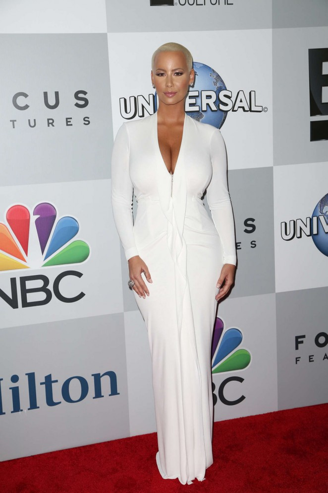 Amber Rose – NBCUniversal Golden Globes Party in Beverly Hills