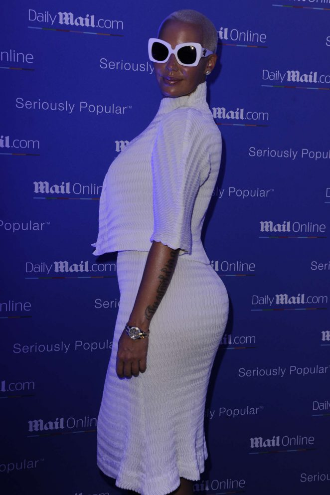 Amber Rose: Party Daily Mail at Cannes Lions festival -04