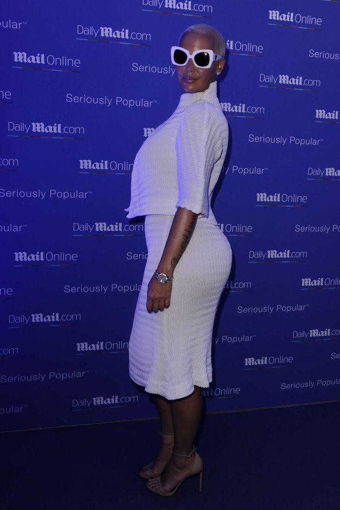 Amber Rose: Party Daily Mail at Cannes Lions festival -09
