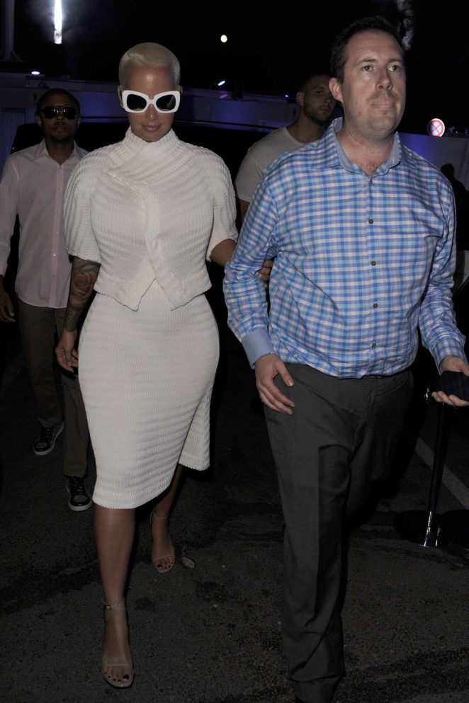 Amber Rose: Party Daily Mail at Cannes Lions festival -18