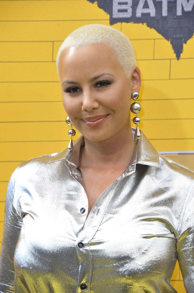 Amber Rose - 'The Lego Batman Movie' Premiere in Westwood