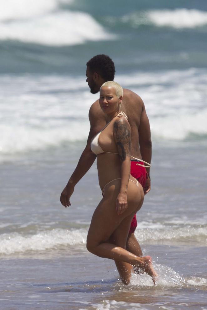 Amber Rose in Bikini -14