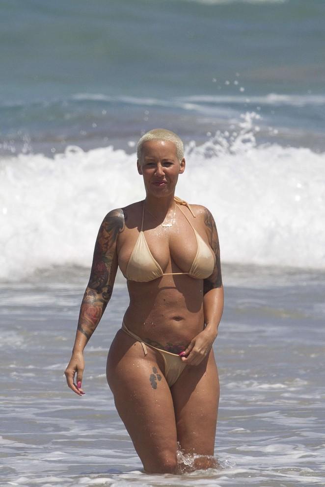 Amber Rose in Bikini -22