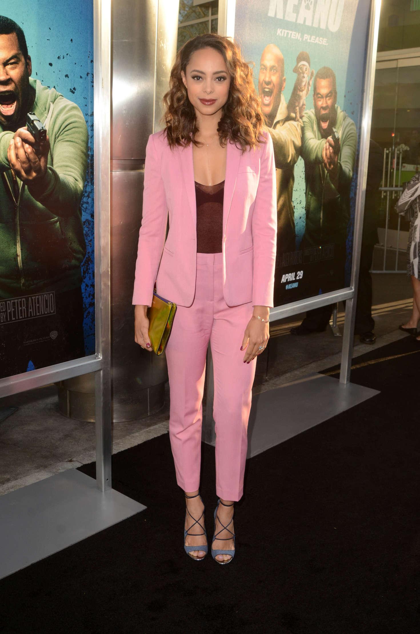 Amber Stevens 2016 : Amber Stevens: Keanu Premiere -09
