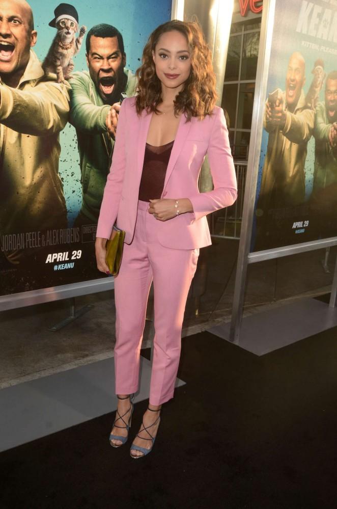 Amber Stevens 2016 : Amber Stevens: Keanu Premiere -14