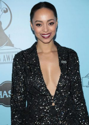 Amber Stevens West - 2018 Make-Up Artists and Hair Stylists Guild Awards in LA