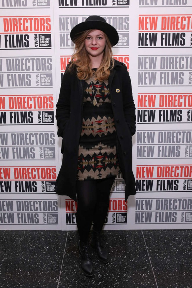 Amber Tamblyn - 2015 New Directors New Films Opening Night Gala in NYC