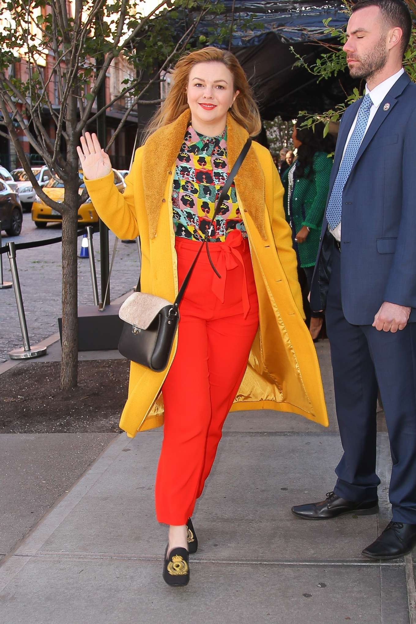 Amber Tamblyn - Arrives at The Tribeca Chanel Women's Filmmaker Program Luncheon in NY