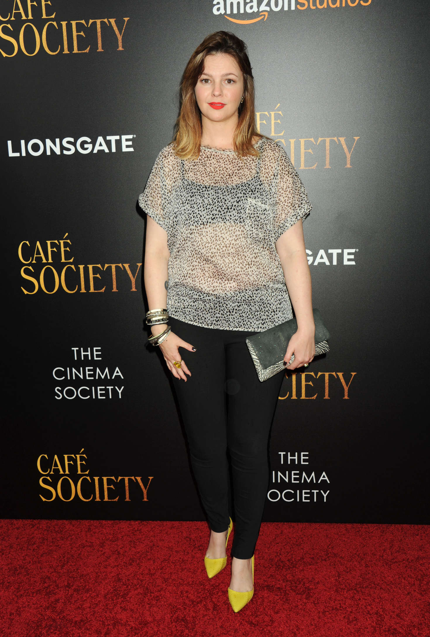 Amber Tamblyn - 'Cafe Society' Premiere in New York City