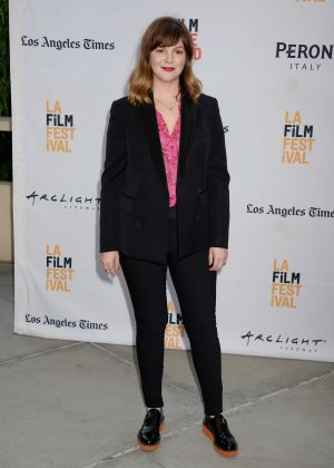 Amber Tamblyn - 'Paint It Black' Premiere at 2016 Los Angeles Film Festival in LA