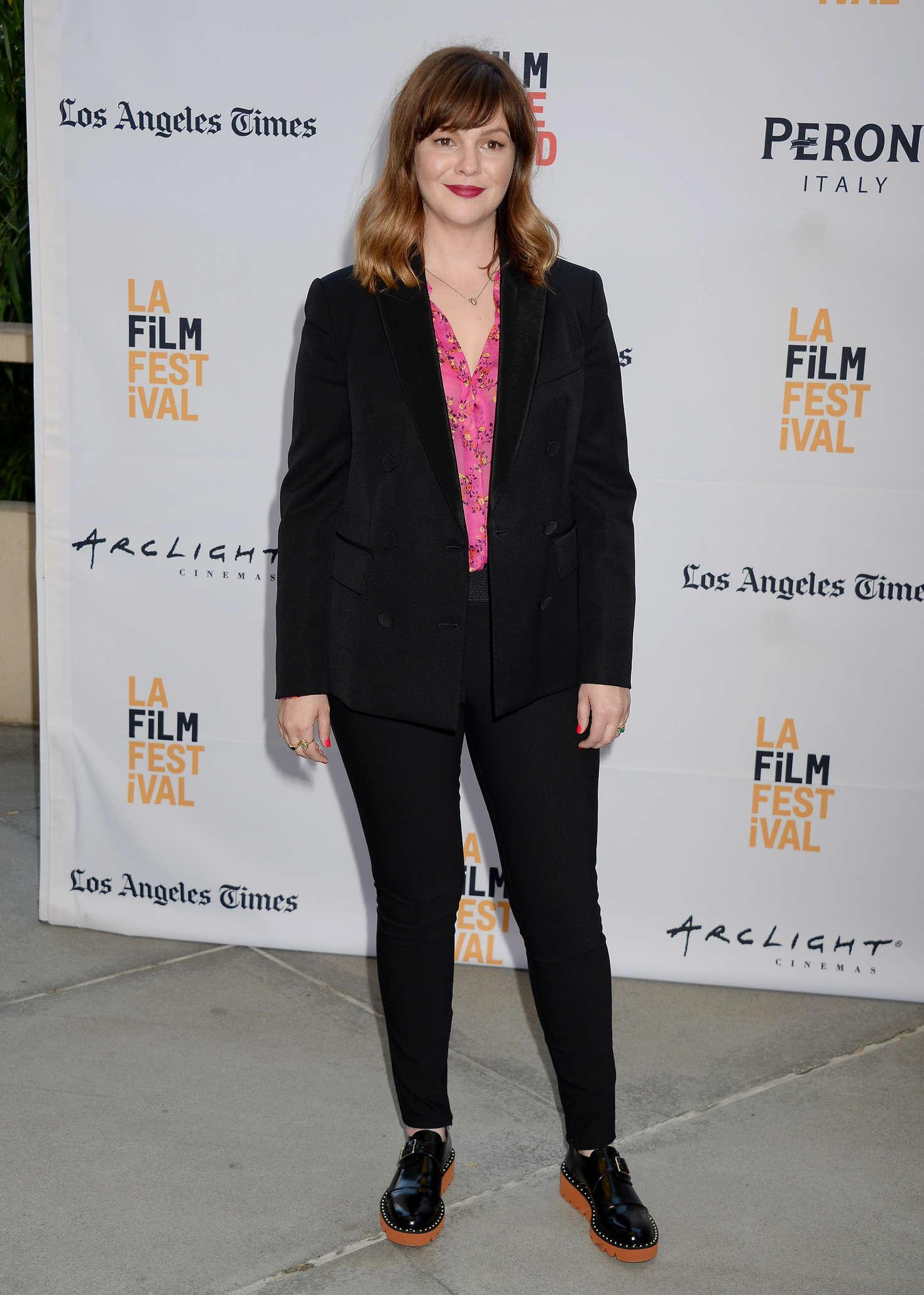 Amber Tamblyn - 'Paint It Black' Premiere at 2016 Los Angeles Film Festival in LA