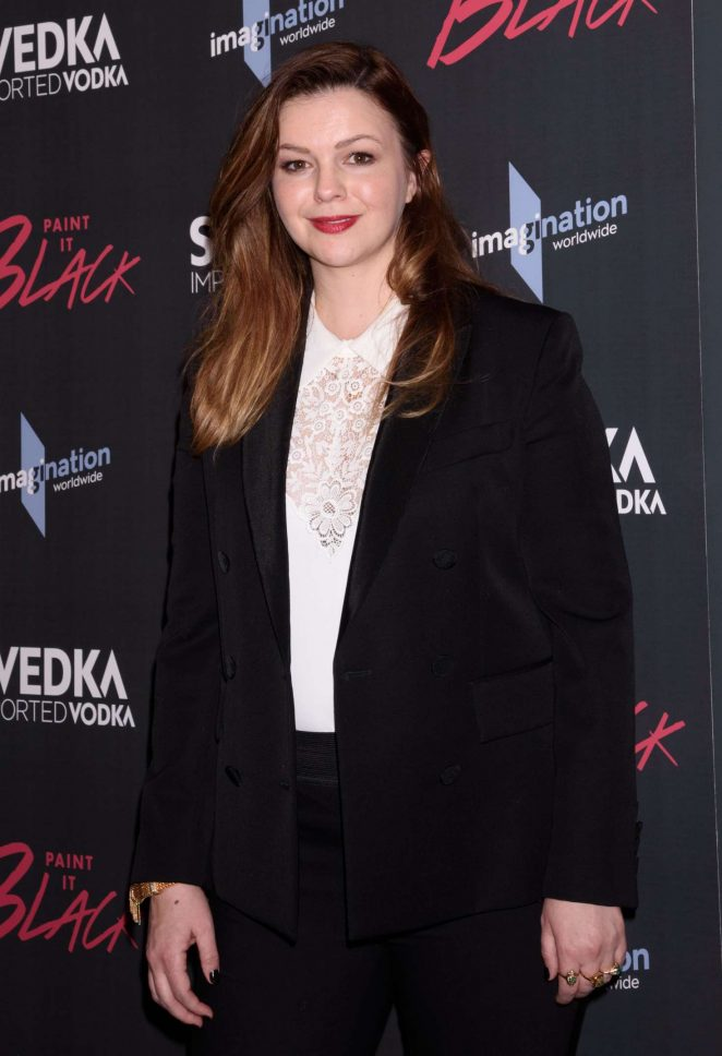 Amber Tamblyn - 'Paint it Black' Screening in New York