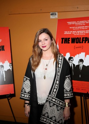 Amber Tamblyn - 'The Wolfpack' Premiere in NYC