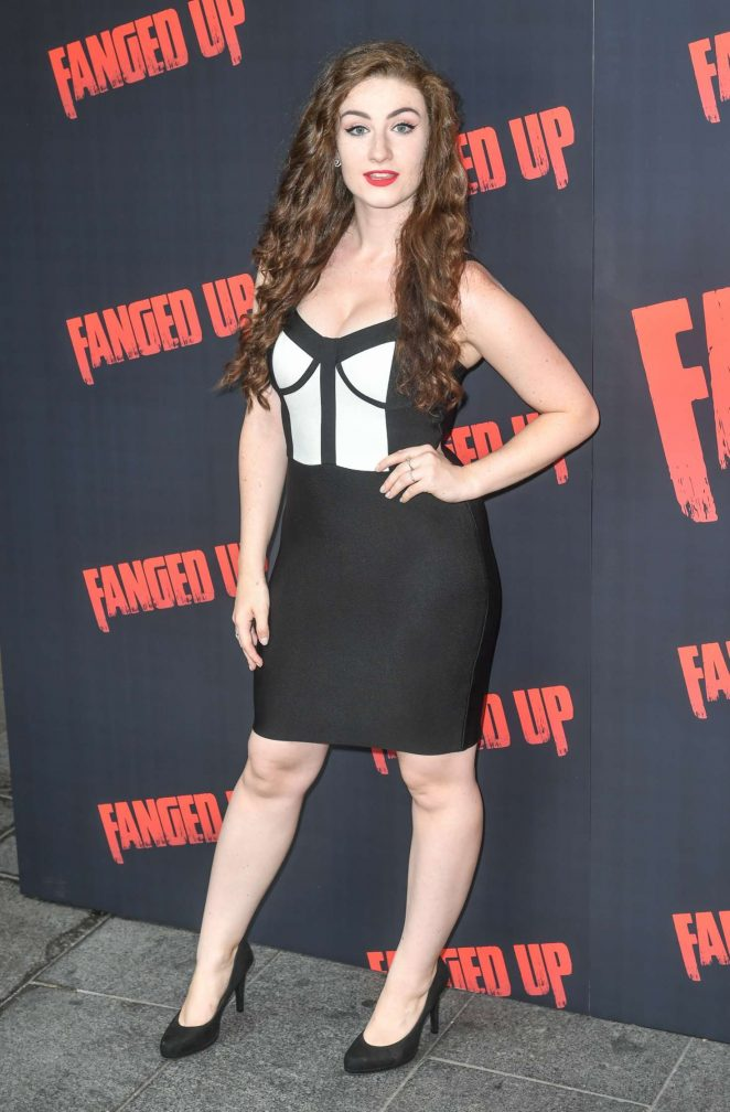 Amber Thorne - 'Fanged Up' Premiere in London