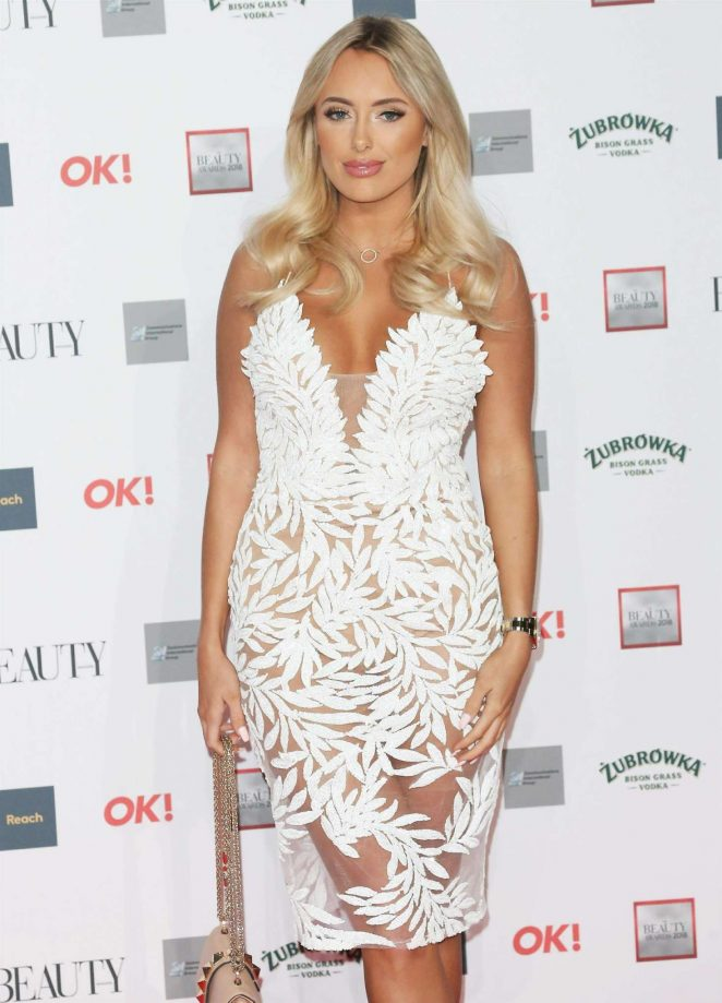 Amber Turner - 2018 Beauty Awards with OK! in London