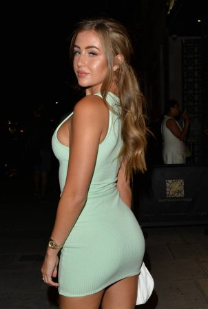 Amber Turner and Georgia Steel - Night out at Sumosan Twiga for Ambers birthday night