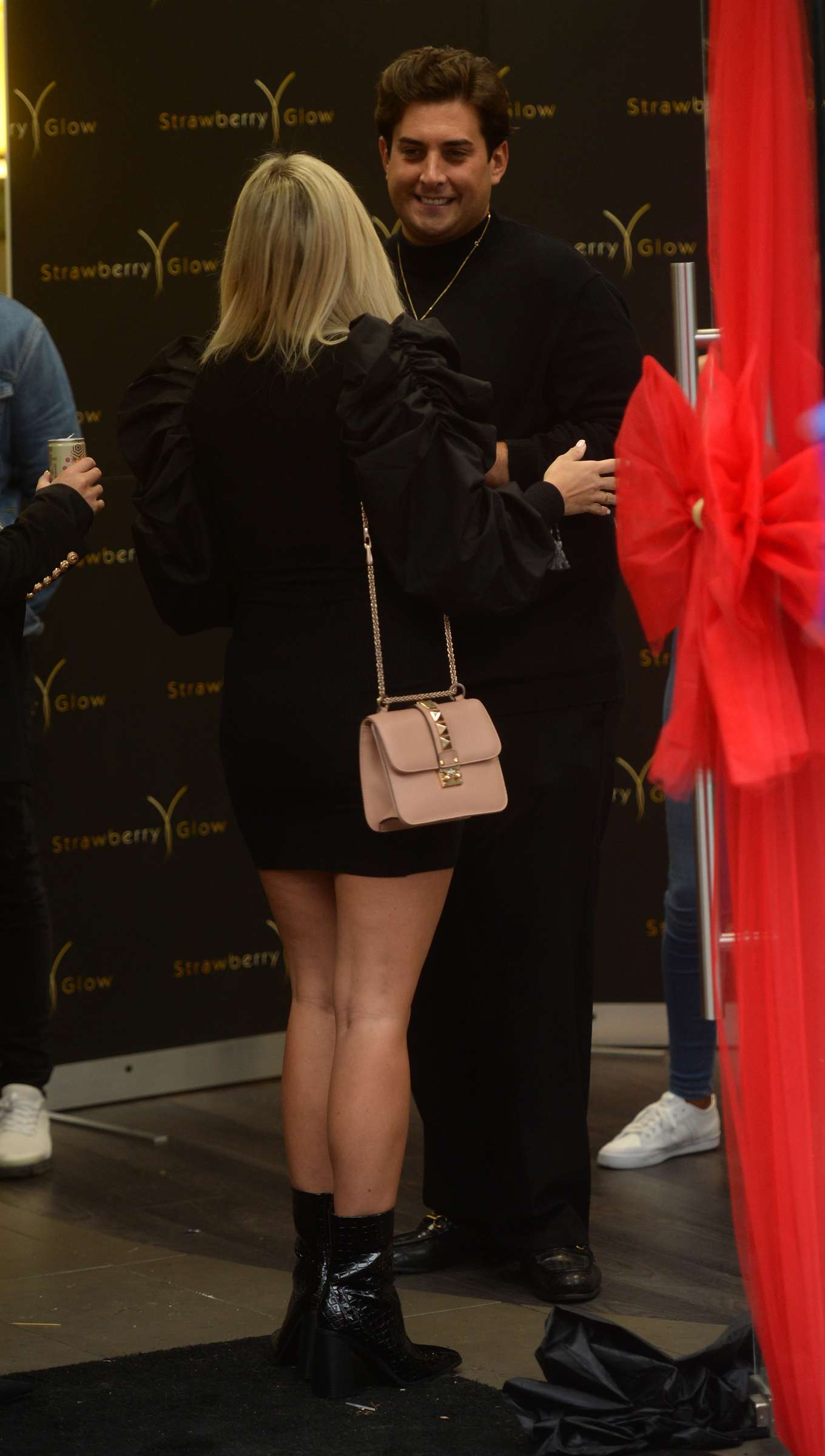 Amber Turner 2019 : Amber Turner – Arrives at Strawberry Glow Launch Party-05