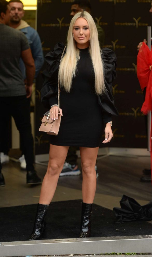 Amber Turner - Arrives at Strawberry Glow Launch Party in Essex