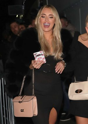 Amber Turner at Faces nightclub in London