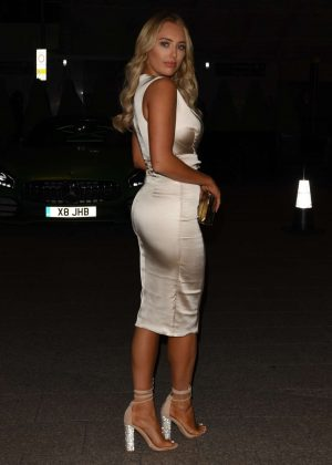 Amber Turner at Shangri La The Shard in London