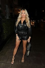 Amber Turner at the Bloomsbury Street Kitchen in London